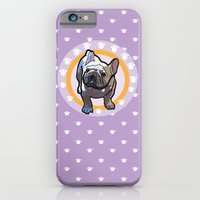 iPhone & iPod Case featuring French bulldog by Caracheng