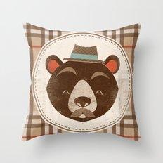 Uncommon Creatures - Bear Throw Pillow