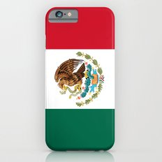The Mexican national flag - Authentic high quality file Slim Case iPhone 6s