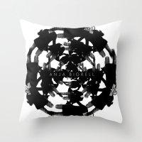 Anja Bigrell - The Explo… Throw Pillow