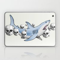 Shark & Skulls Laptop & iPad Skin