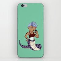 Lamia Lass iPhone & iPod Skin