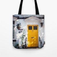 The Perfect Yellow Door Tote Bag