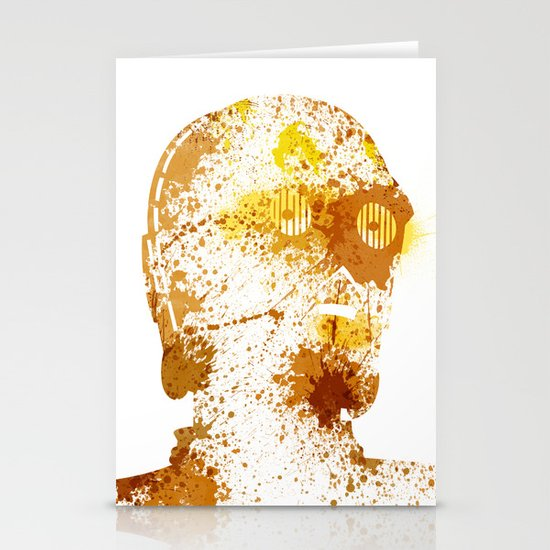 Protocol Droid Stationery Card