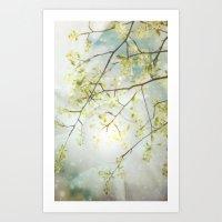 Nature's Glow Art Print