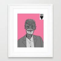 1001 Black Men--#344 Framed Art Print