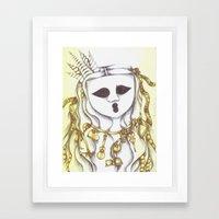 The Ghostesses Of Caprice Art Print #3 Framed Art Print
