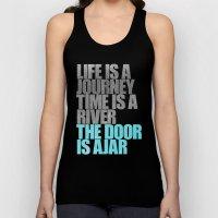 The Door is Ajar Unisex Tank Top
