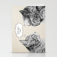 Cat Confusion Stationery Cards
