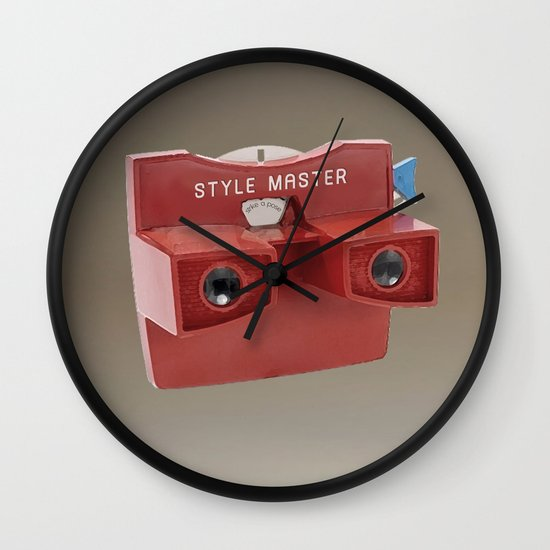 STYLE MASTER VIEWER Wall Clock