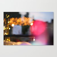 Blur Of Colour Canvas Print