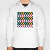 Colorful Zigzag Hoody