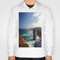 Rock Stacks & Gigantic Mainland Cliffs Hoody