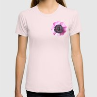 Hello Spring - The Heart… Womens Fitted Tee Light Pink SMALL