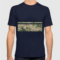 Bloomed Mens Fitted Tee Navy SMALL