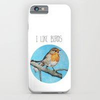 iPhone & iPod Case featuring I LIKE BIRDS by memories warehouse by @aikogg