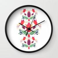 Gardens Of V Wall Clock