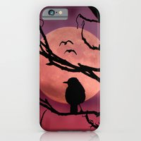iPhone & iPod Case featuring Moonlit dusk by Pirmin Nohr