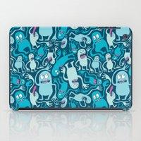 Monster Pattern iPad Case