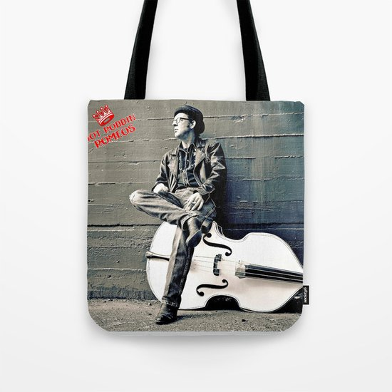 Rockin' Billy Burns Tote Bag