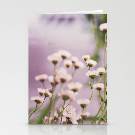 Rising and Falling Stationery Card