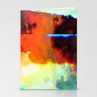 23-03-44 (Cloud Glitch) Stationery Cards