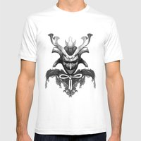 Samurai XYZ Mens Fitted Tee White SMALL