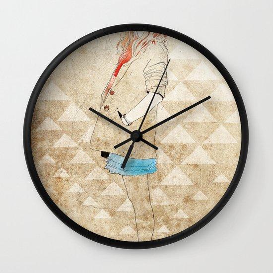Girl One Wall Clock