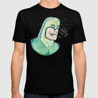 SUPER Stoned Mens Fitted Tee Black SMALL