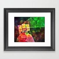 Ciyon Framed Art Print