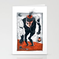 The Haunted Conductor Stationery Cards