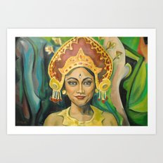Dewa Ayu Eka Art Print