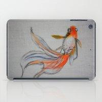 Goldfish Pond (close up #10) iPad Case