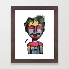 Joshwa Framed Art Print