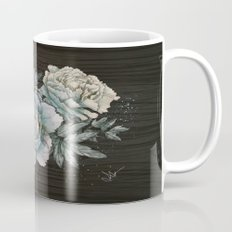 Peony Wood Mug