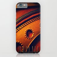 iPhone & iPod Case featuring piano skeleton by Krista Glavich