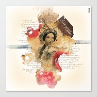 Shakespeare Ladies #1 Canvas Print