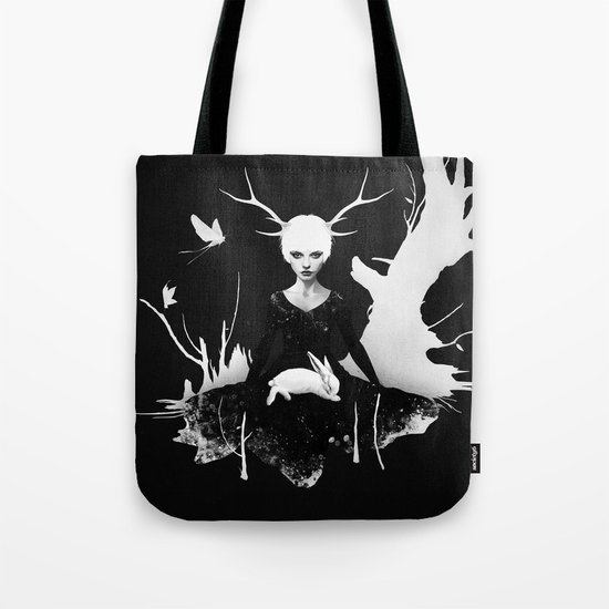 Space Within Tote Bag