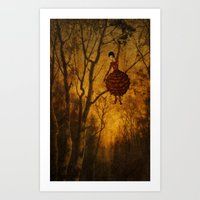 Pine Girl Art Print