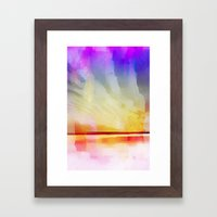 summer dream Framed Art Print