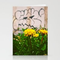Urban alley beauty Stationery Cards