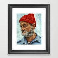 Bill Murray / Steve Ziss… Framed Art Print