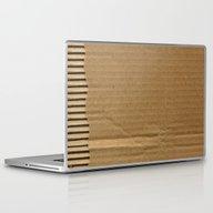 Cardboard Paper Laptop & iPad Skin