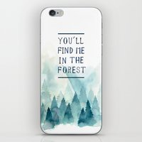 You´ll Find Me In The F… iPhone & iPod Skin