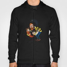 Don't let the kittah cocktail out on a cold day! Hoody