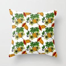 Jamaican Botanicals - Cerasee (natural) Throw Pillow