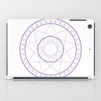 Anime Magic Circle 8 iPad Case