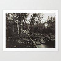 Vintage Landscape Art Print
