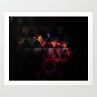 Galactic Cocktail Art Print