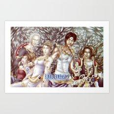 Final Fantasy V Art Print